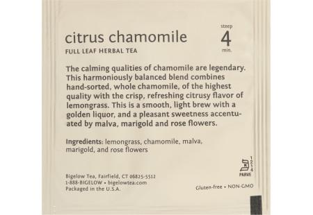 Citrus Chamomile